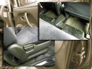 車内タバコ ヤニ汚れ 洗浄クリーニング前