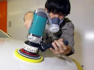カーコーティングの要。ボディ磨き