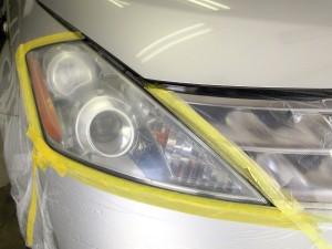 ヘッドライト黄ばみ磨き コーティング